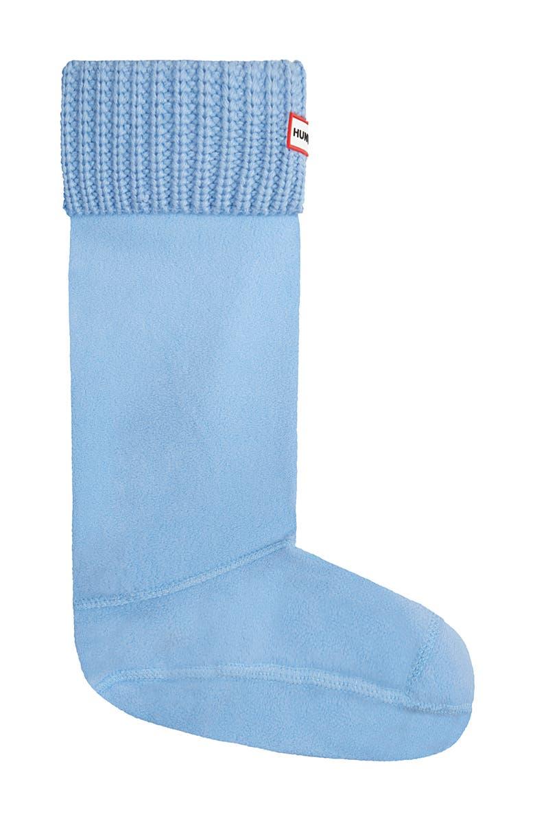 HUNTER Tall Cardigan Knit Cuff Welly Boot Socks, Main, color, 418