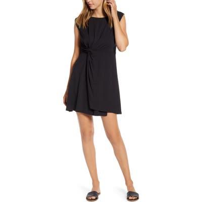 Tommy Bahama Paradisa Side Twist Sleeveless Dress, Black