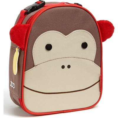 Toddler Skip Hop Zoo Insulated Lunchbox - Brown