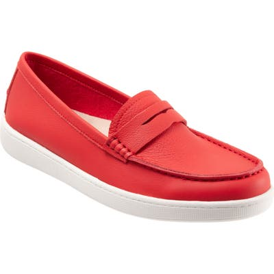 Trotters Dina Loafer, Red
