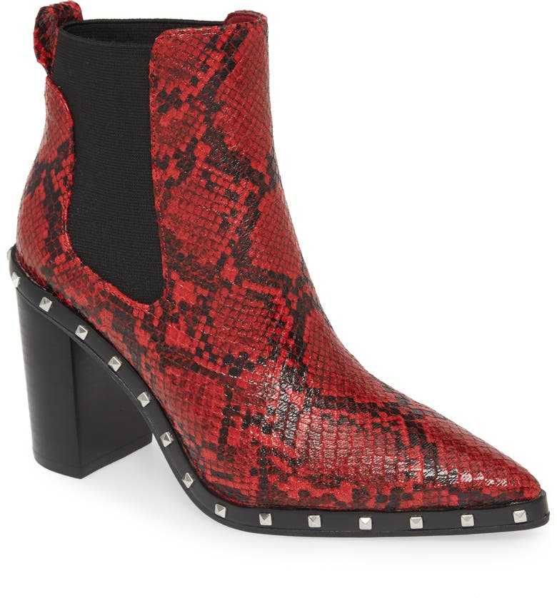 CHARLES BY CHARLES DAVID Dodger Chelsea Boot, Main, color, RED MULTI
