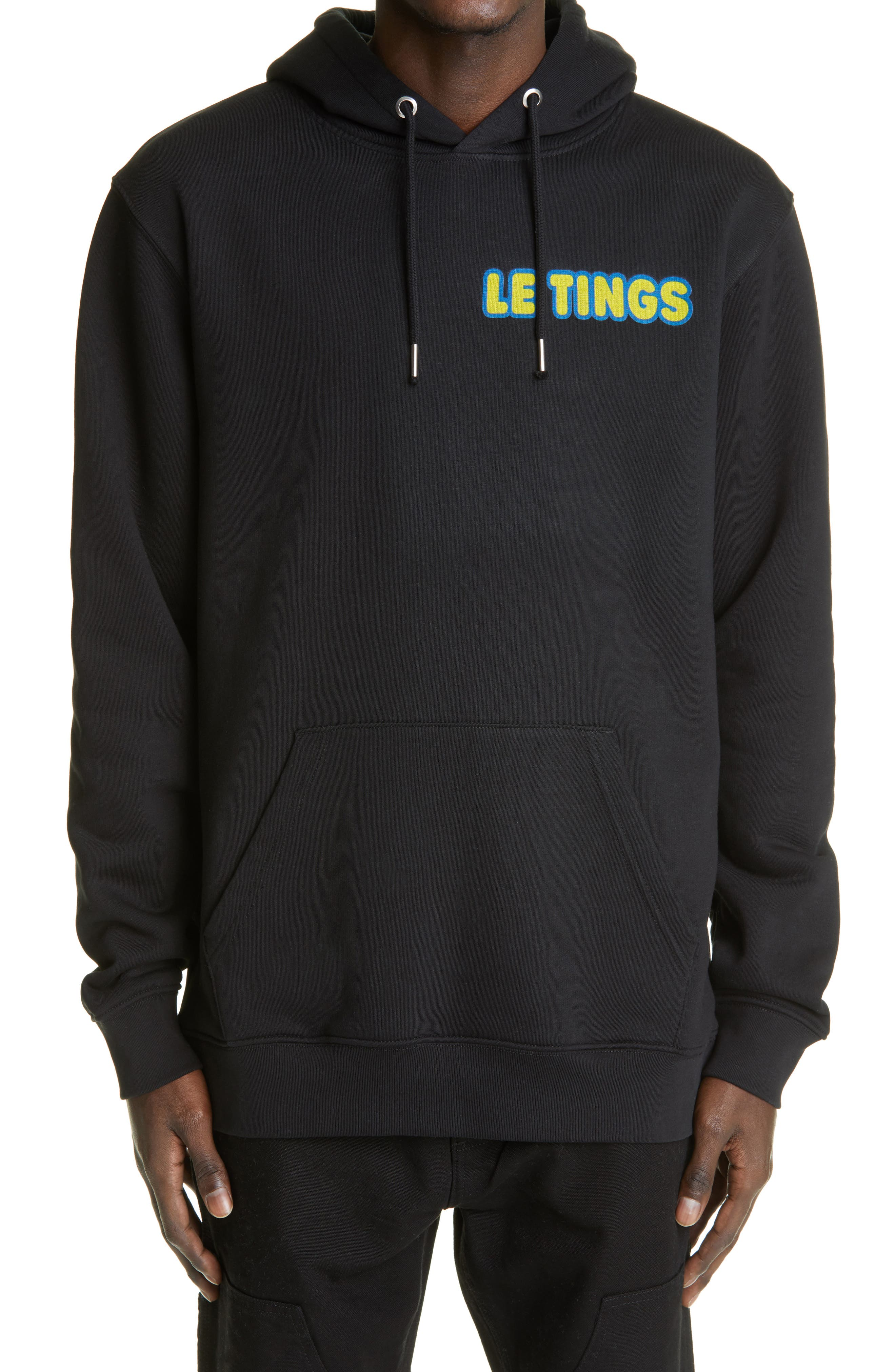 Stock Cube Graphic Hoodie