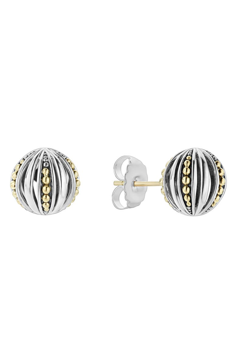 LAGOS Signature Gifts Beaded Ball Stud Earring, Main, color, 040
