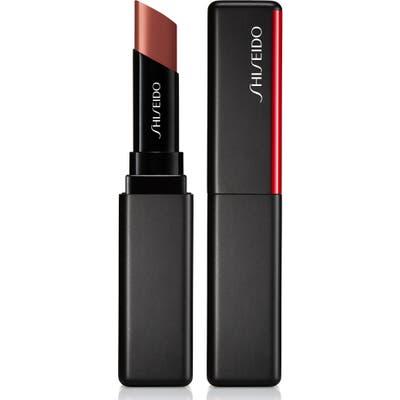 Shiseido Visionairy Gel Lipstick - Woodblock