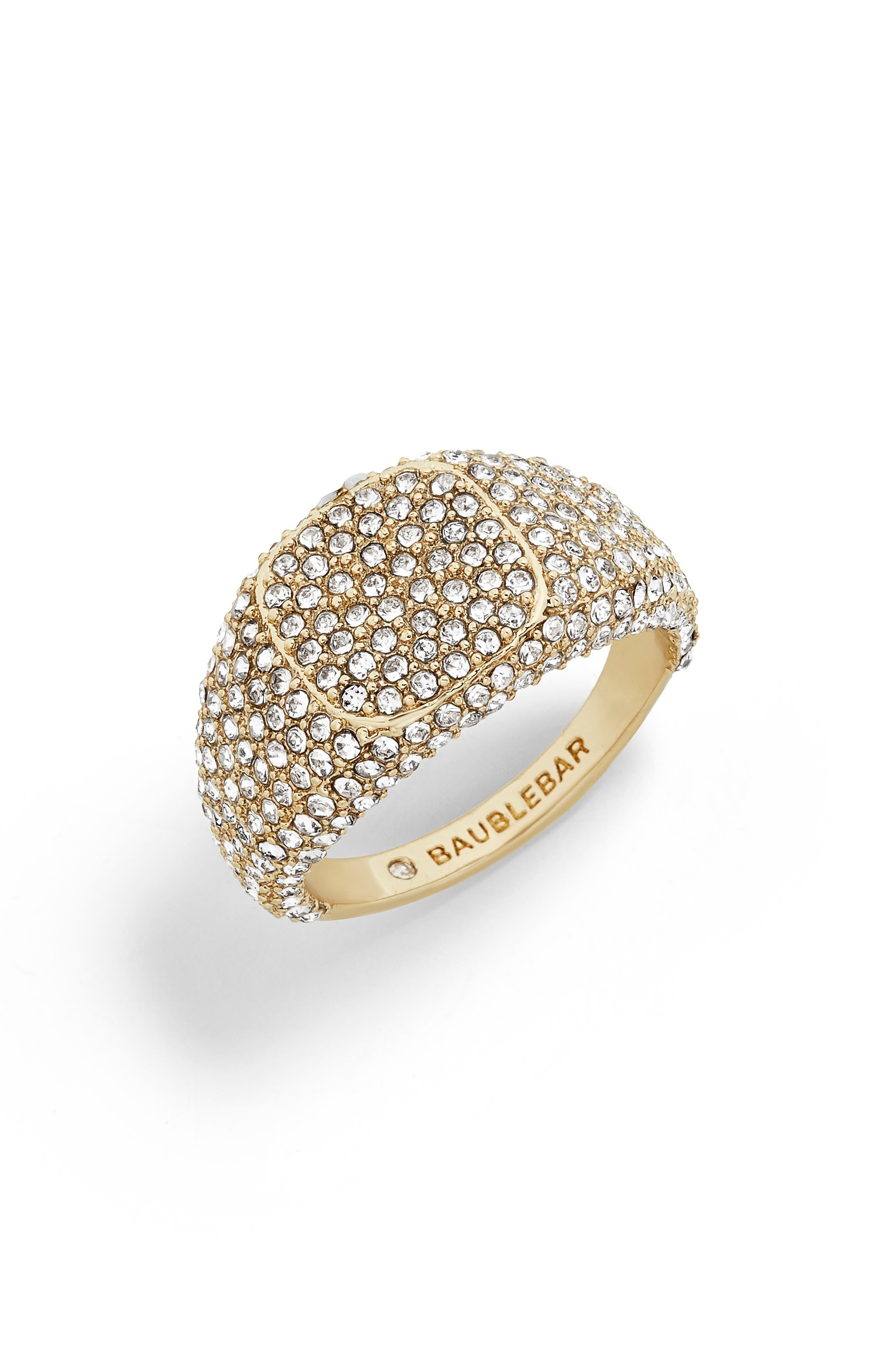 Serilda Ring, Main, color, GOLD