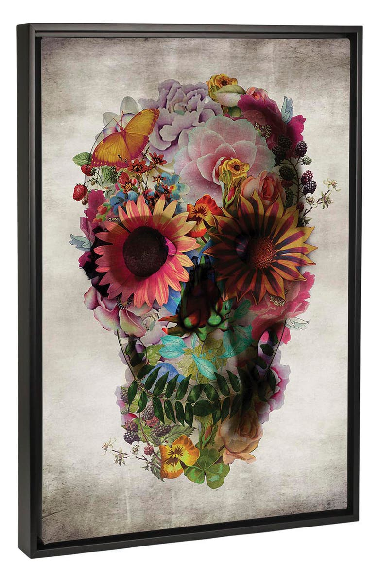 ICANVAS Skull 2 by Ali Gulec Giclée Print Canvas Art, Main, color, 300