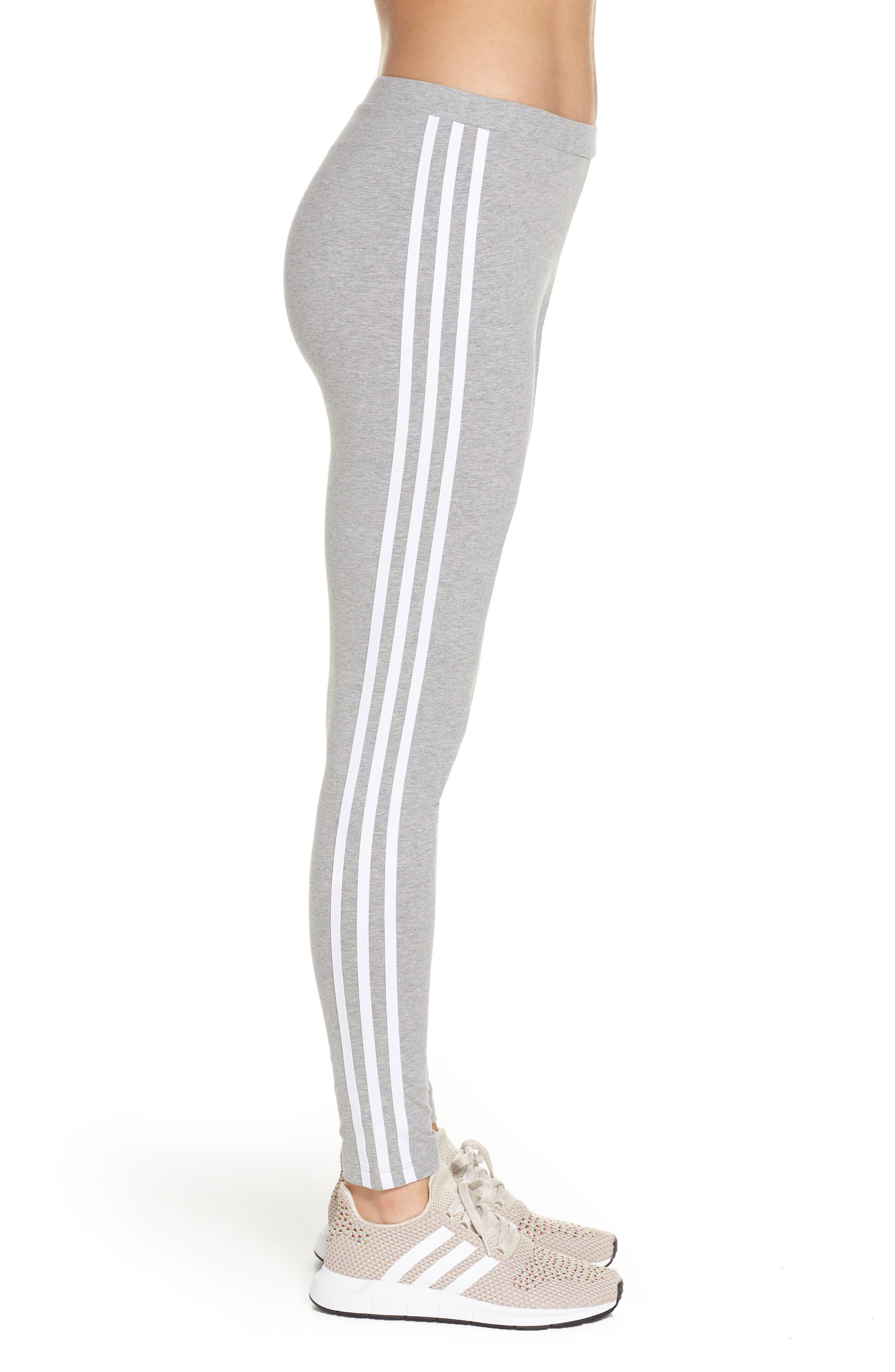 ,                             adidas 3-Stripes Tights,                             Alternate thumbnail 17, color,                             020
