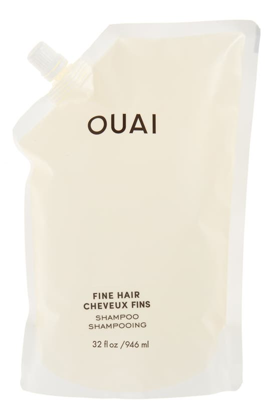 Ouai Fine Hair Shampoo Refill (946ml) In White