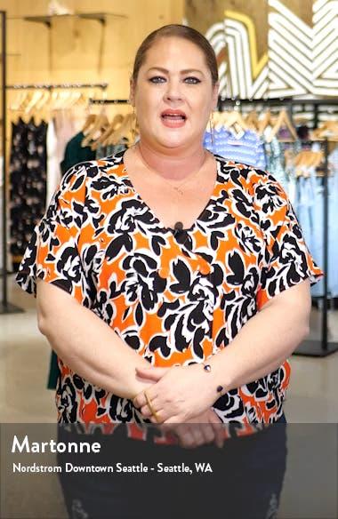 Gladis Python Print Silk Georgette Minidress, sales video thumbnail