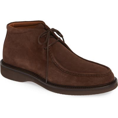 Aquatalia Kyle Water Resistant Chukka Boot- Brown