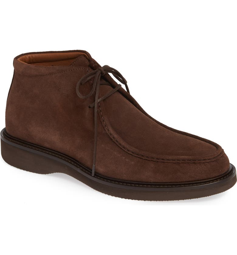 AQUATALIA Kyle Water Resistant Chukka Boot, Main, color, BROWN SUEDE
