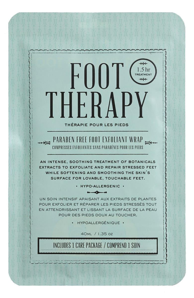 KOCOSTAR Foot Therapy Foot Exfoliation Wrap, Main, color, 000