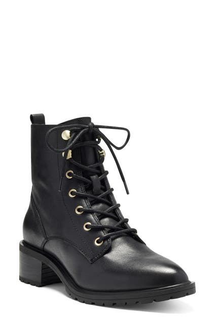 Image of Sole Society Faunya Leather Lace-Up Boot