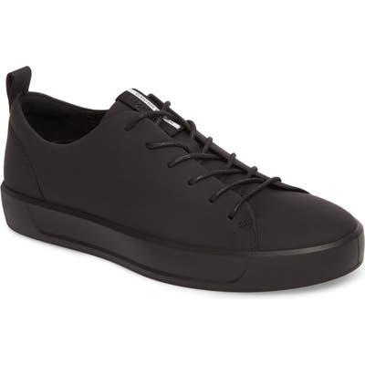 Ecco Soft 8 Sneaker - Black