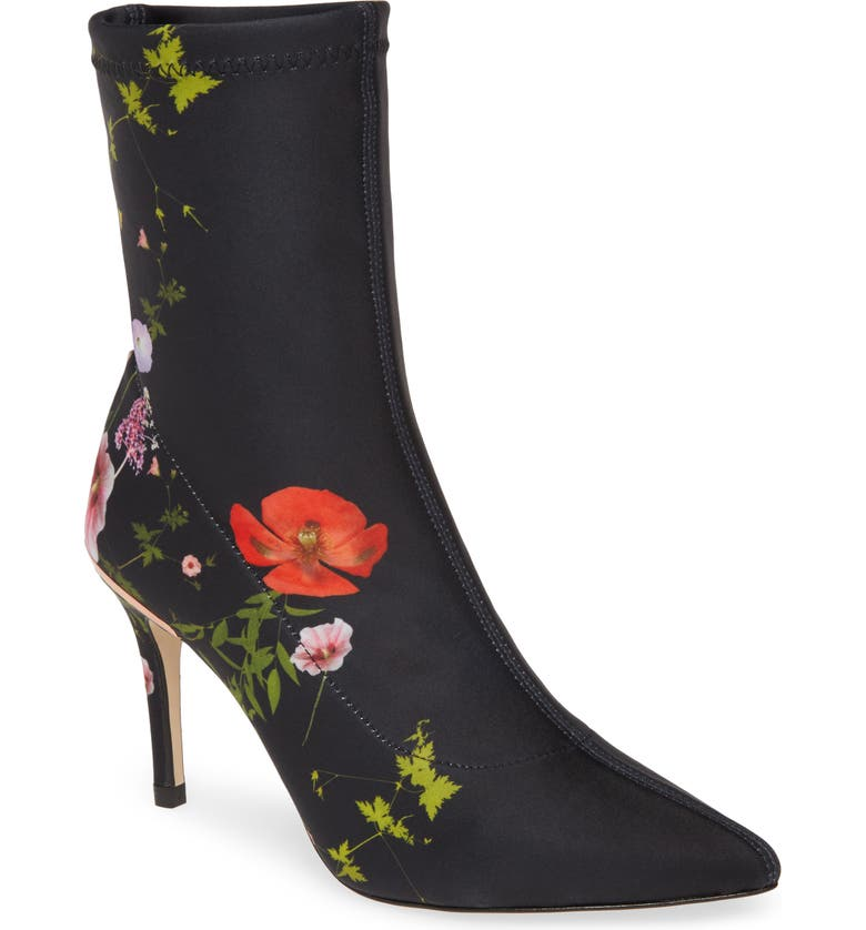 TED BAKER LONDON Elzbet Bootie, Main, color, NAVY HEDGEROW