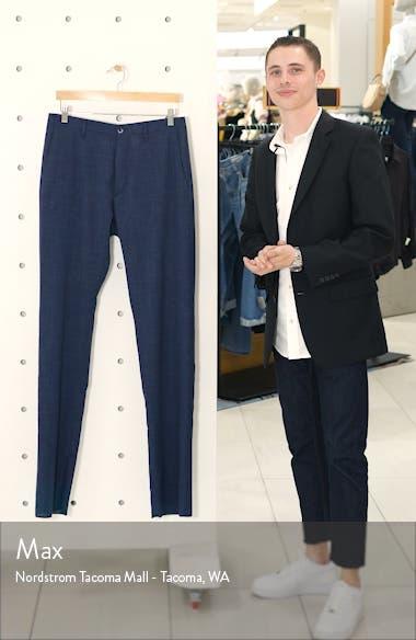 Noah Flat Front Straight Leg Stretch Trousers, sales video thumbnail