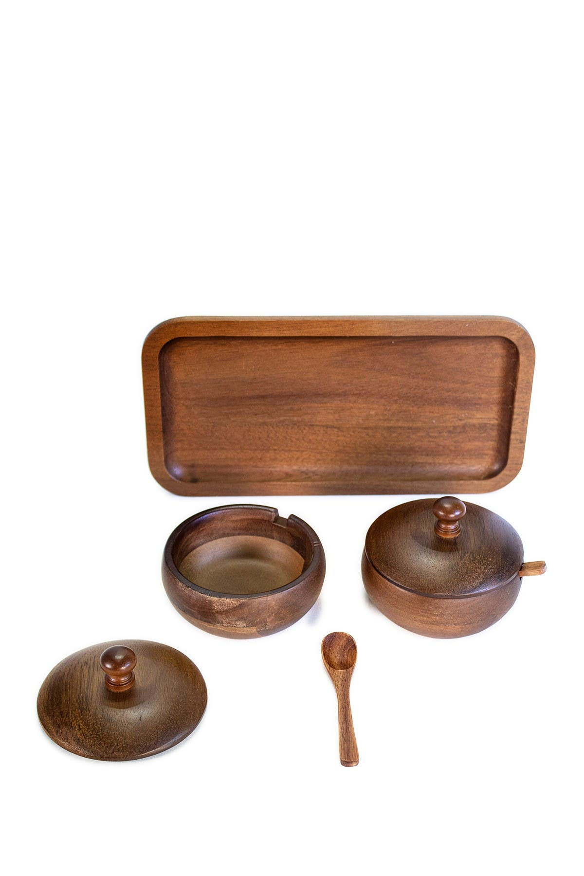 Image of BergHOFF Acacia Wooden Spice Jar Set