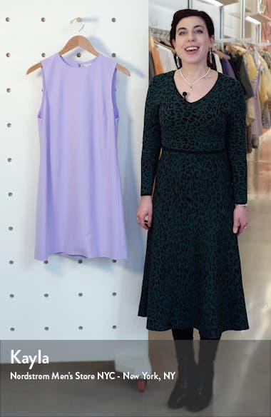 Coley Crepe A-Line Dress, sales video thumbnail