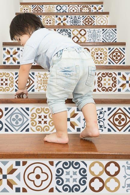 Image of WalPlus Multi Azulejo Wall Sticker Decal