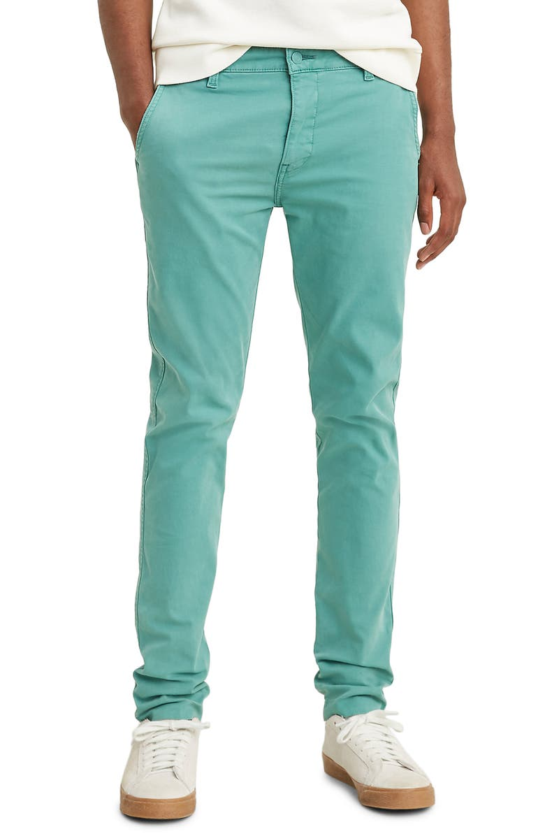 LEVI'S<SUP>®</SUP> XX Slim Tapered Chinos, Main, color, JADE BLUE SHADY