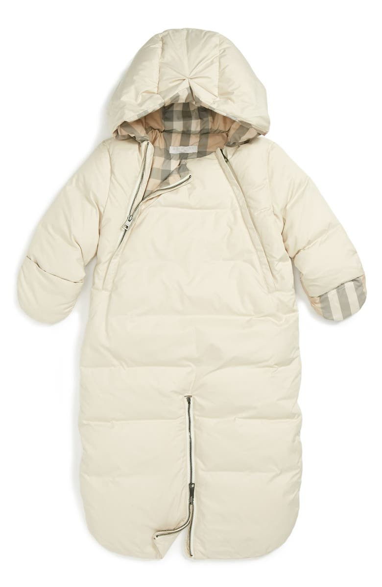 9bf182fe4a Burberry Down Bunting (Baby Girls) | Nordstrom