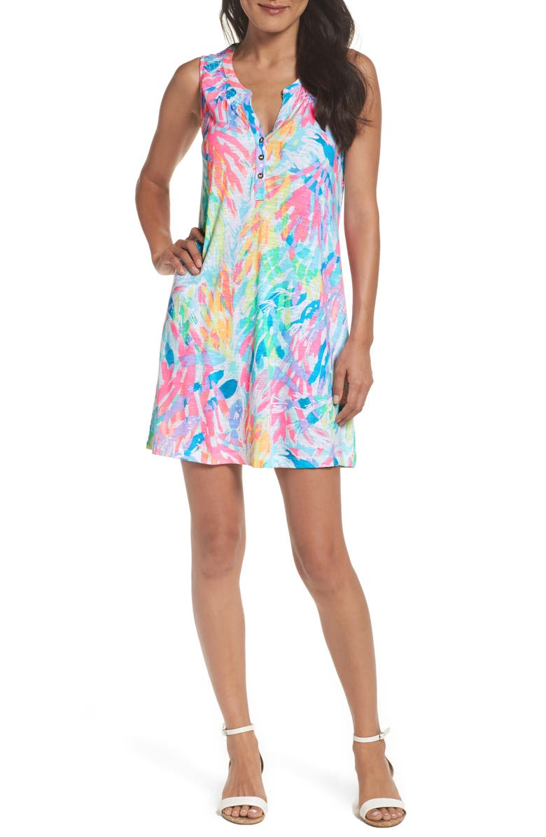 LILLY PULITZER<SUP>®</SUP> Essie Shift Dress, Main, color, 199