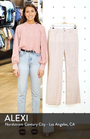 Stripe Linen & Cotton Trousers, sales video thumbnail