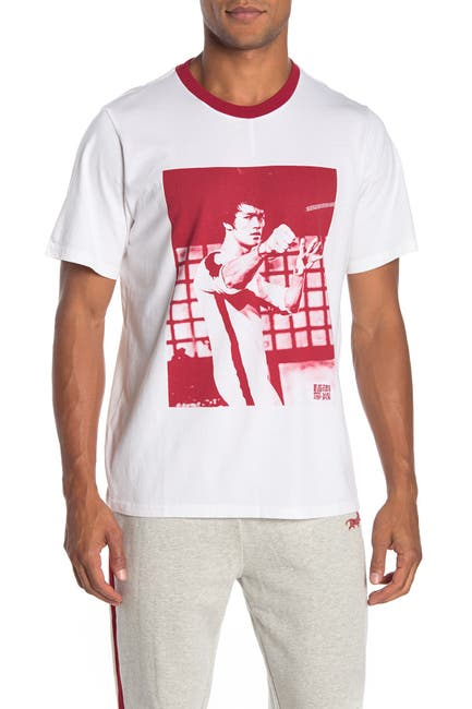 Image of OVADIA AND SONS Bruce Leet Short Sleeve Graphic T-shirt