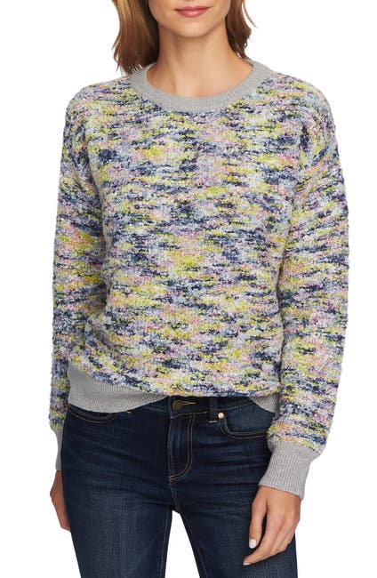 Image of CeCe by Cynthia Steffe Boucle Pullover Sweater