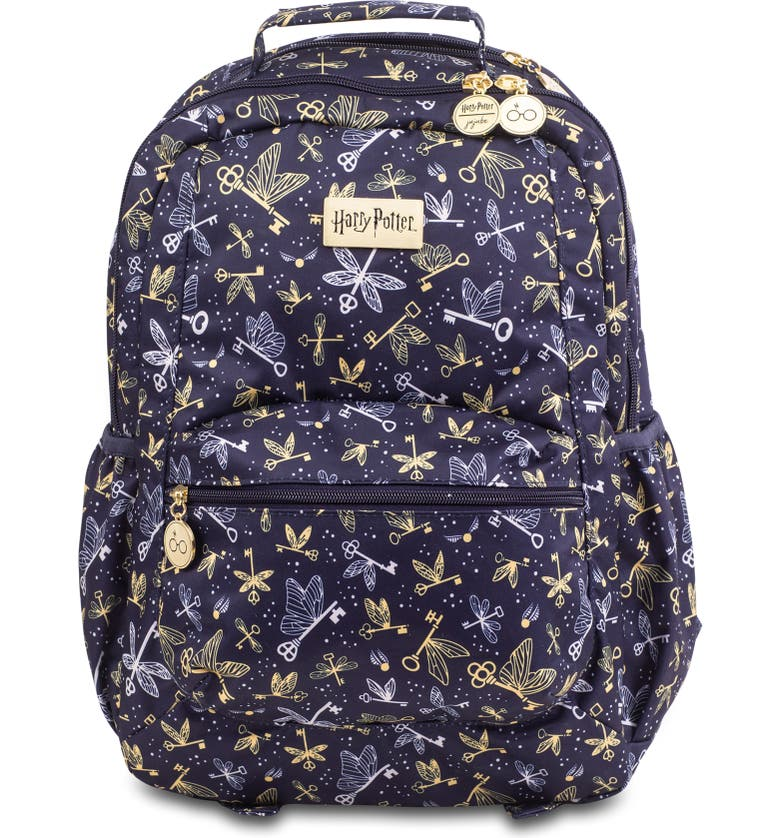 JU-JU-BE Harry Potter<sup>™</sup> Be Packed Diaper Backpack, Main, color, FLYING KEYS