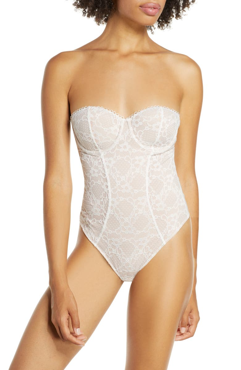 THISTLE & SPIRE Elizabeth Underwire Bodysuit, Main, color, 900