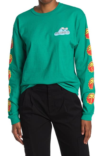 Image of Obey Wavey Long Sleeve T-Shirt