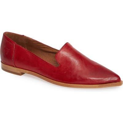 Frye Kenzie Venetian Flat- Red