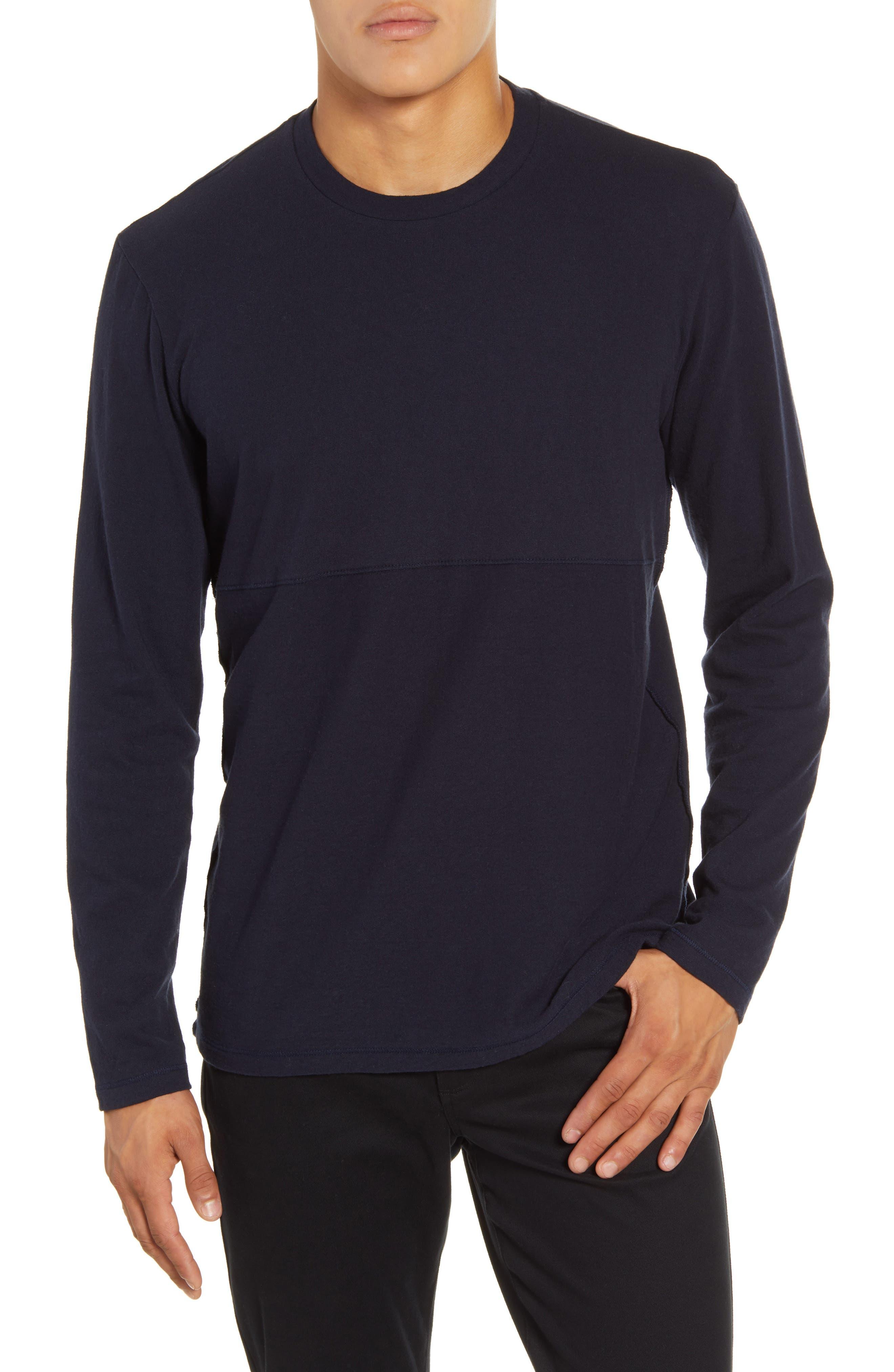 Image of BALDWIN Hugo Slim Fit Long Sleeve T-Shirt