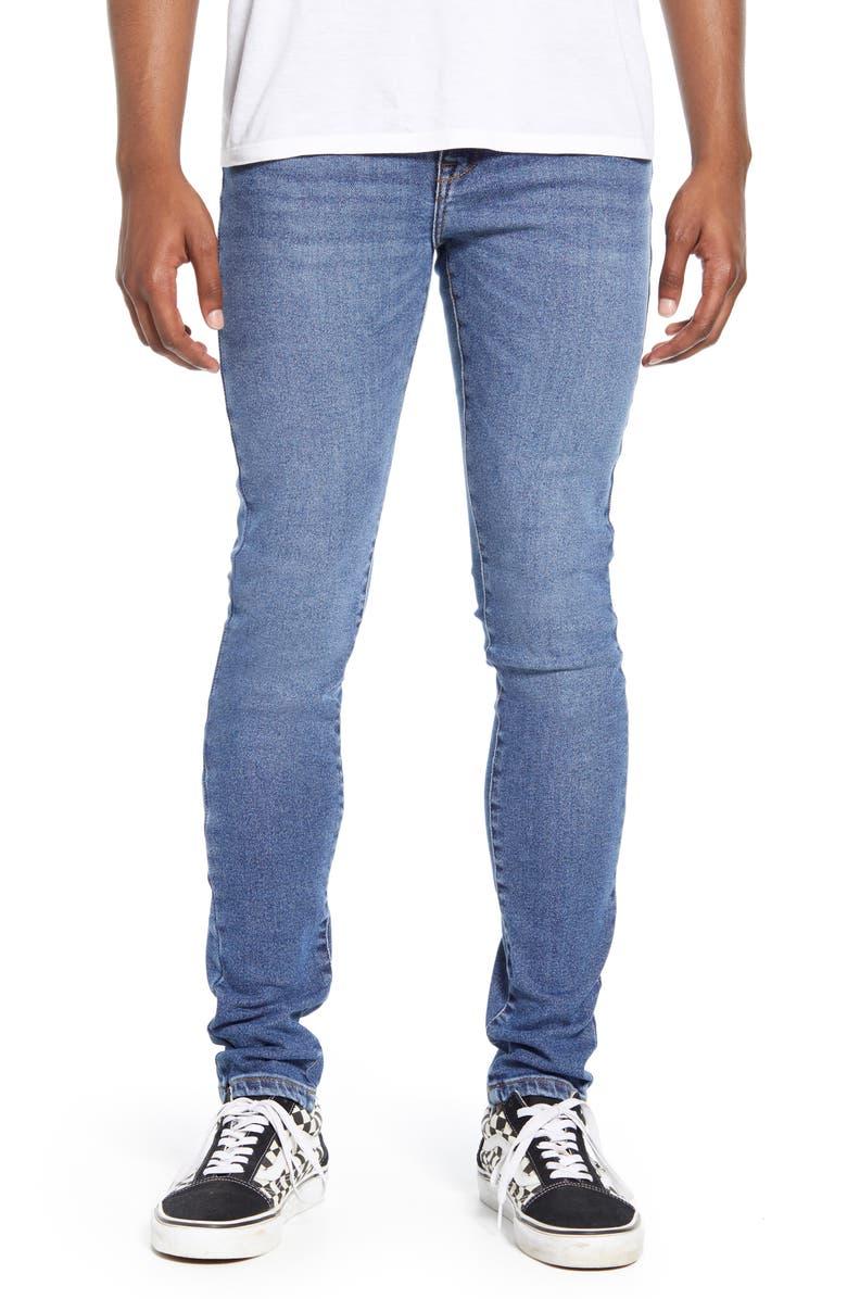 DR. DENIM SUPPLY CO. Leroy Slim Fit Jeans, Main, color, BLUE