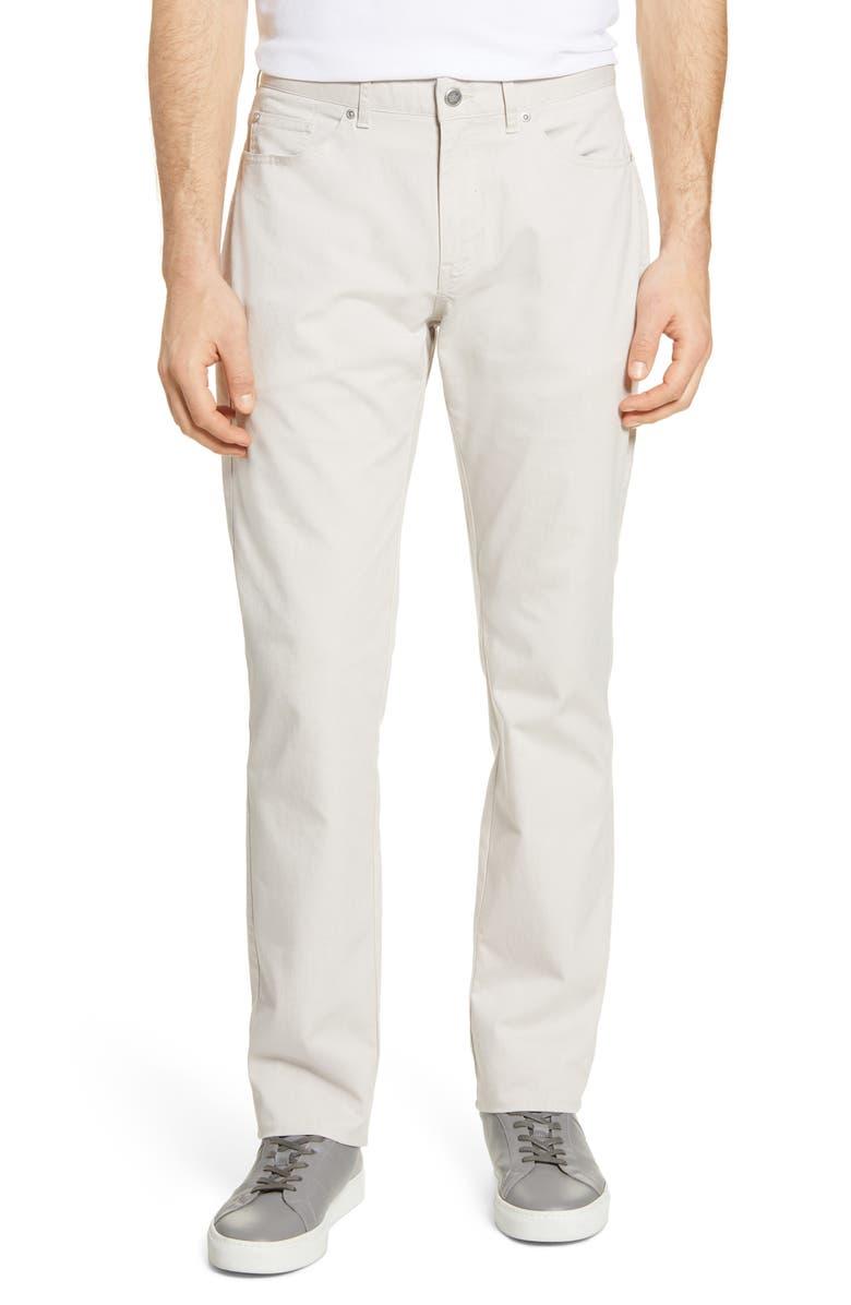 PETER MILLAR Crown Comfort Straight Leg Twill 5-Pocket Pants, Main, color, 206
