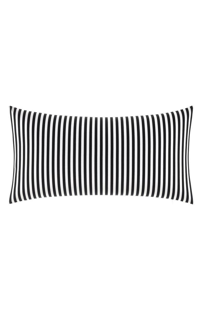 MARIMEKKO Ajo Accent Pillow, Main, color, BLACK