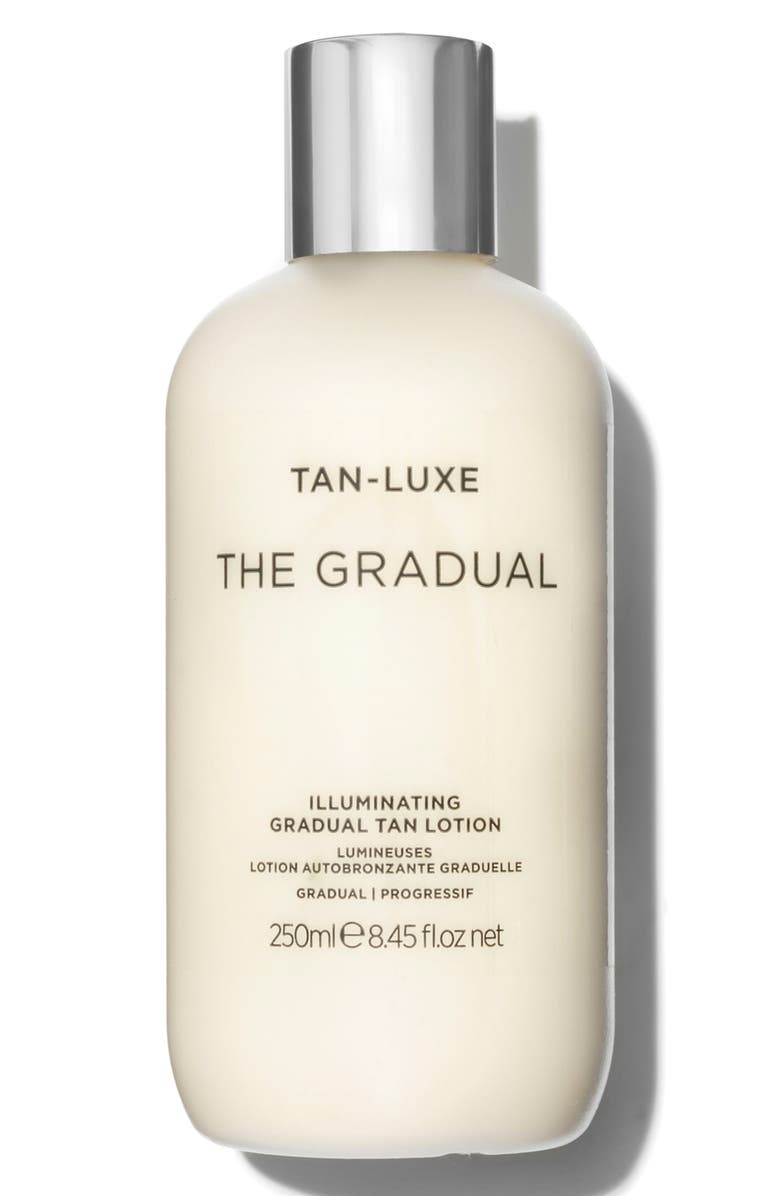 TAN-LUXE SPACE.NK.apothecary Tan-Luxe The Gradual Illuminating Tanning Lotion, Main, color, GRADUAL
