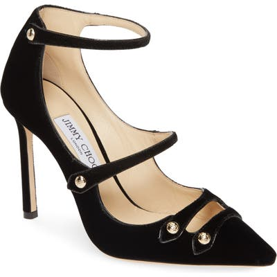 Jimmy Choo Lacey Strappy Pump, Black