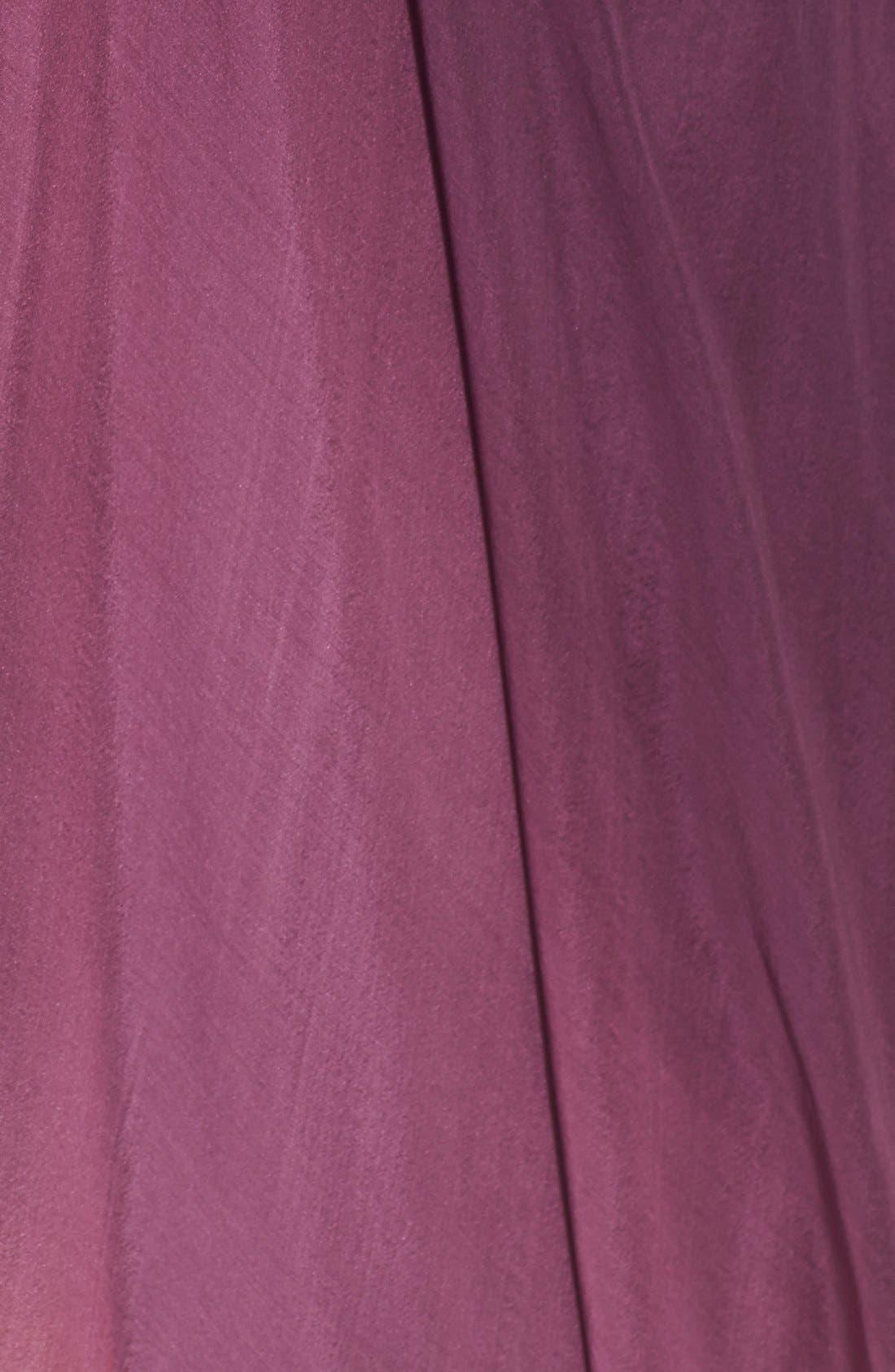 ,                             Ombré Chiffon Gown,                             Alternate thumbnail 4, color,                             500