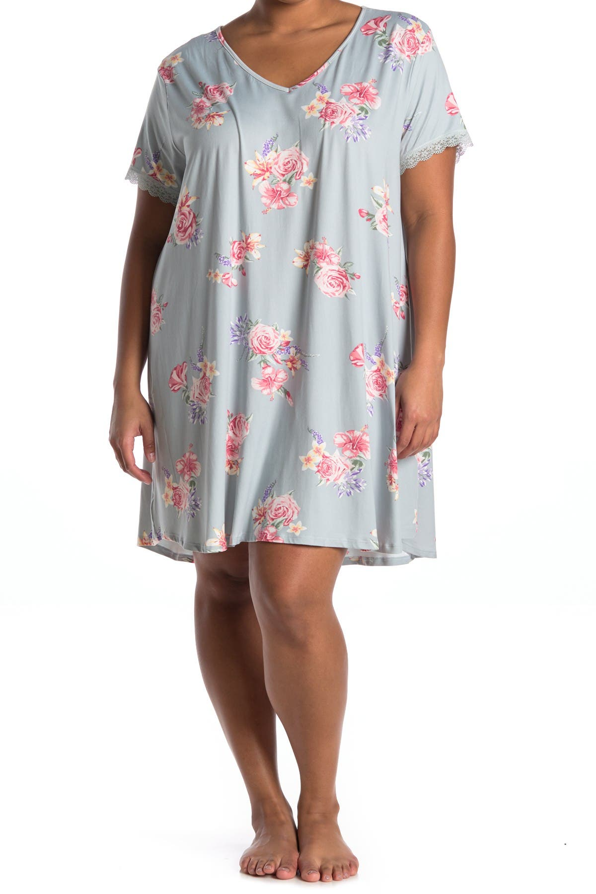 Image of Flora by Flora Nikrooz Short Sleeve Night Gown