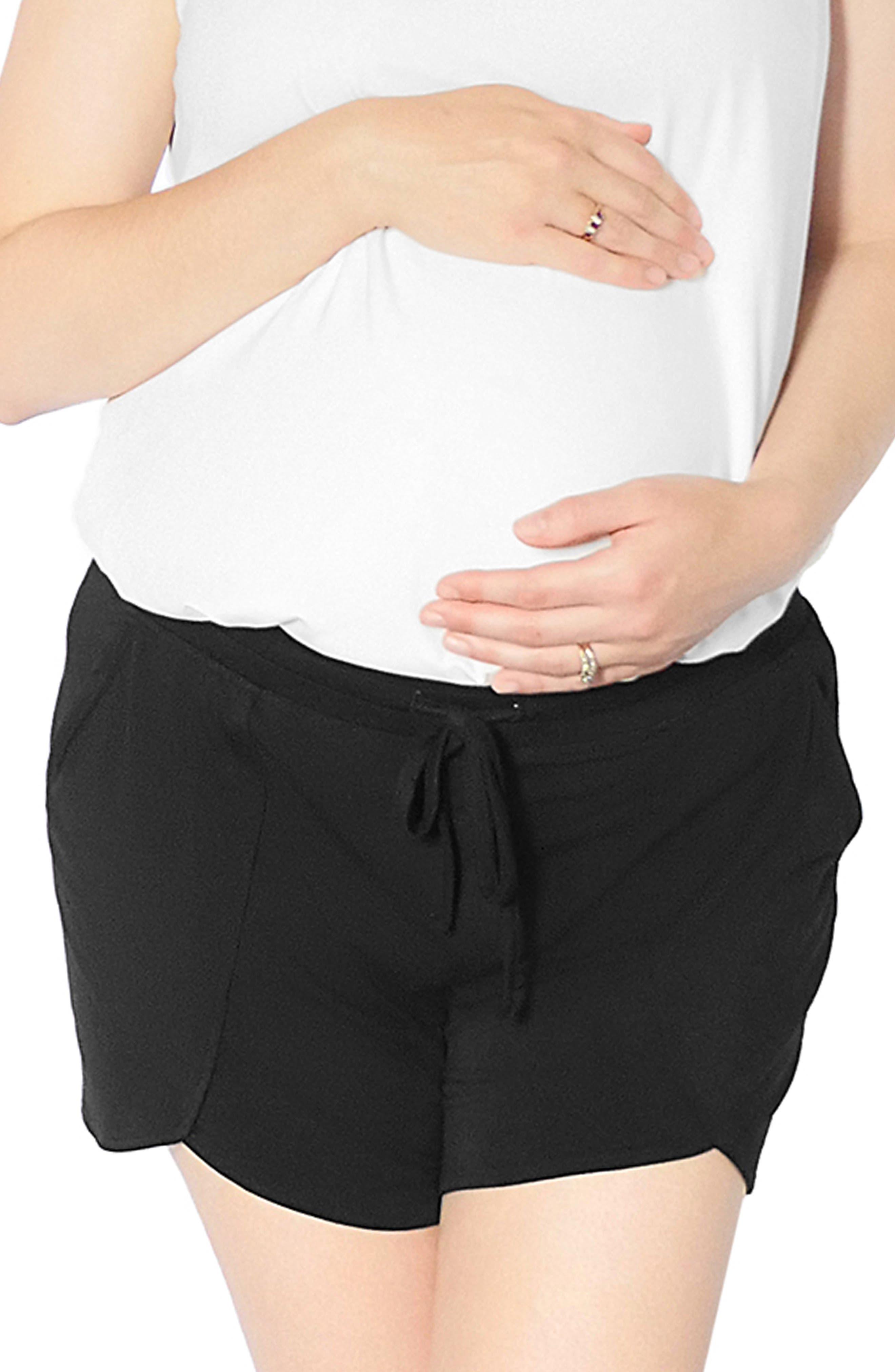 Tie Waist Maternity/postpartum Shorts