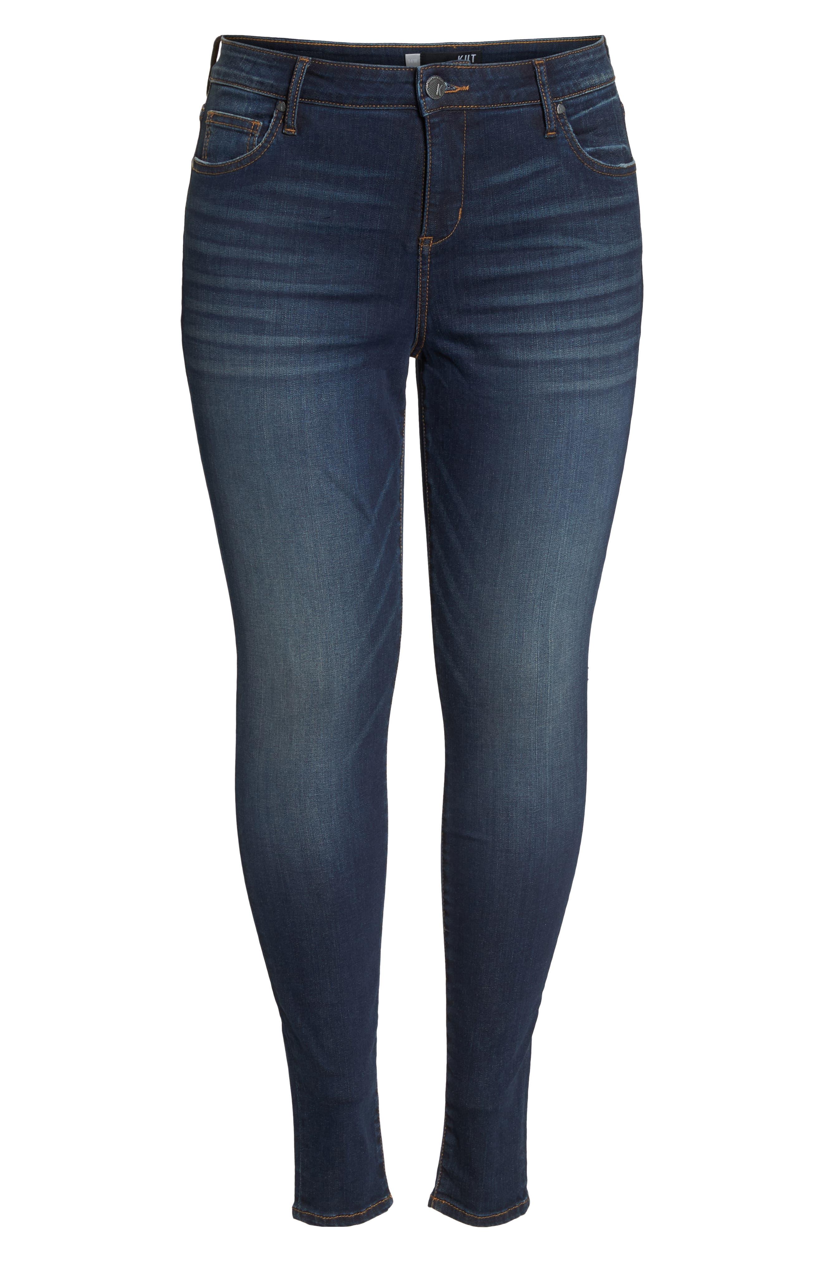 ,                             Mia High Waist Skinny Jeans,                             Alternate thumbnail 7, color,                             432