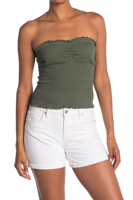 Image of Abound Smocked Strapless Top