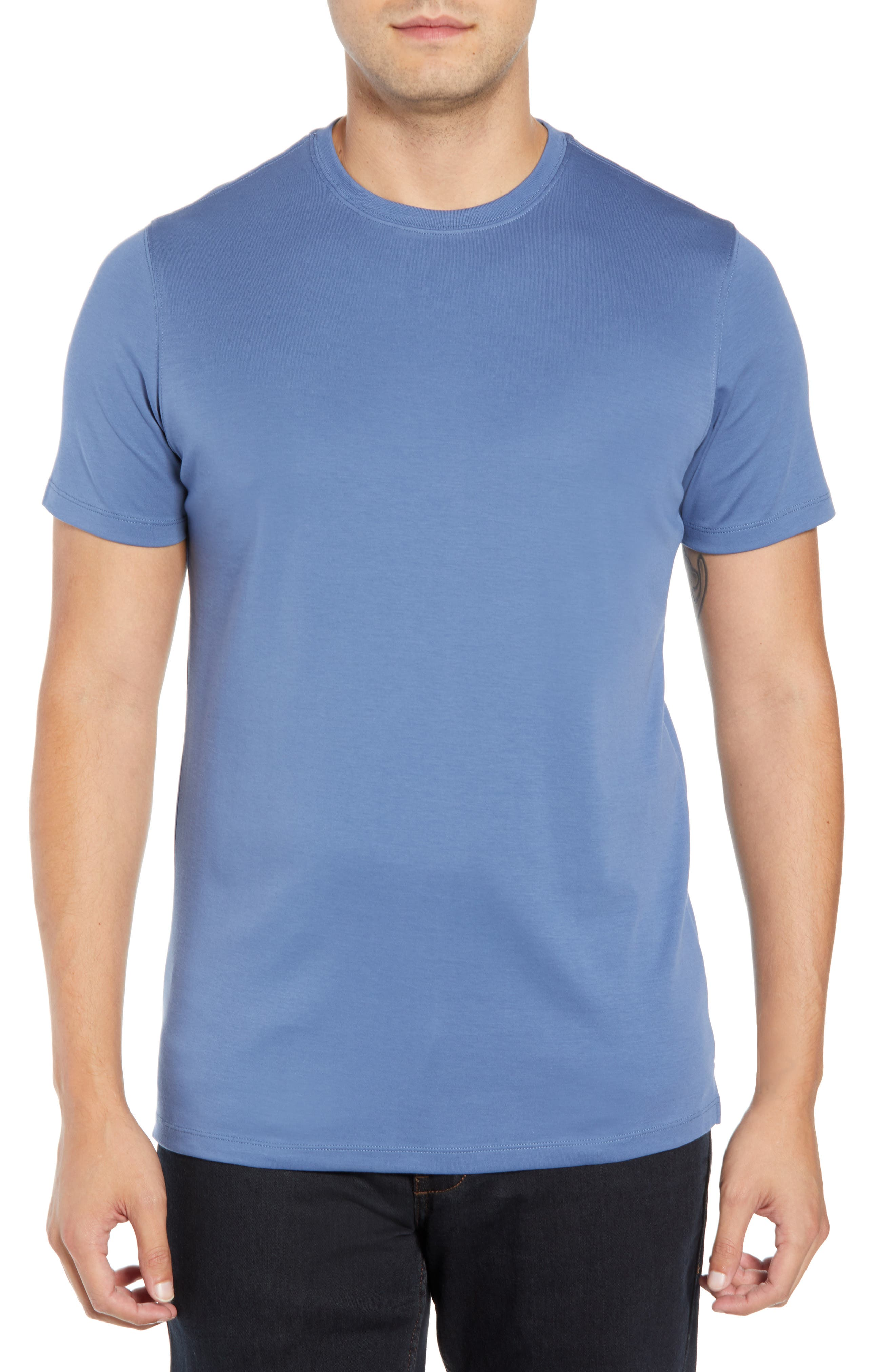 ,                             Georgia Crewneck T-Shirt,                             Main thumbnail 66, color,                             488