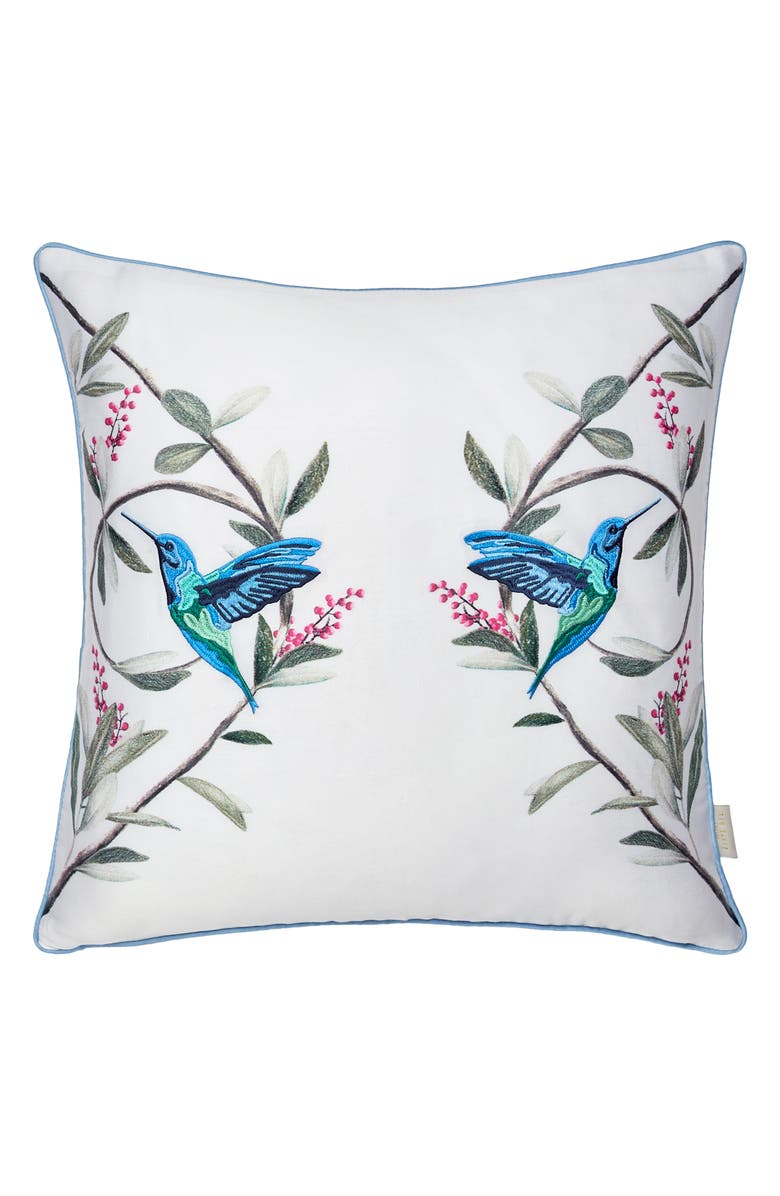 TED BAKER LONDON Highgrove Accent Pillow, Main, color, MINT