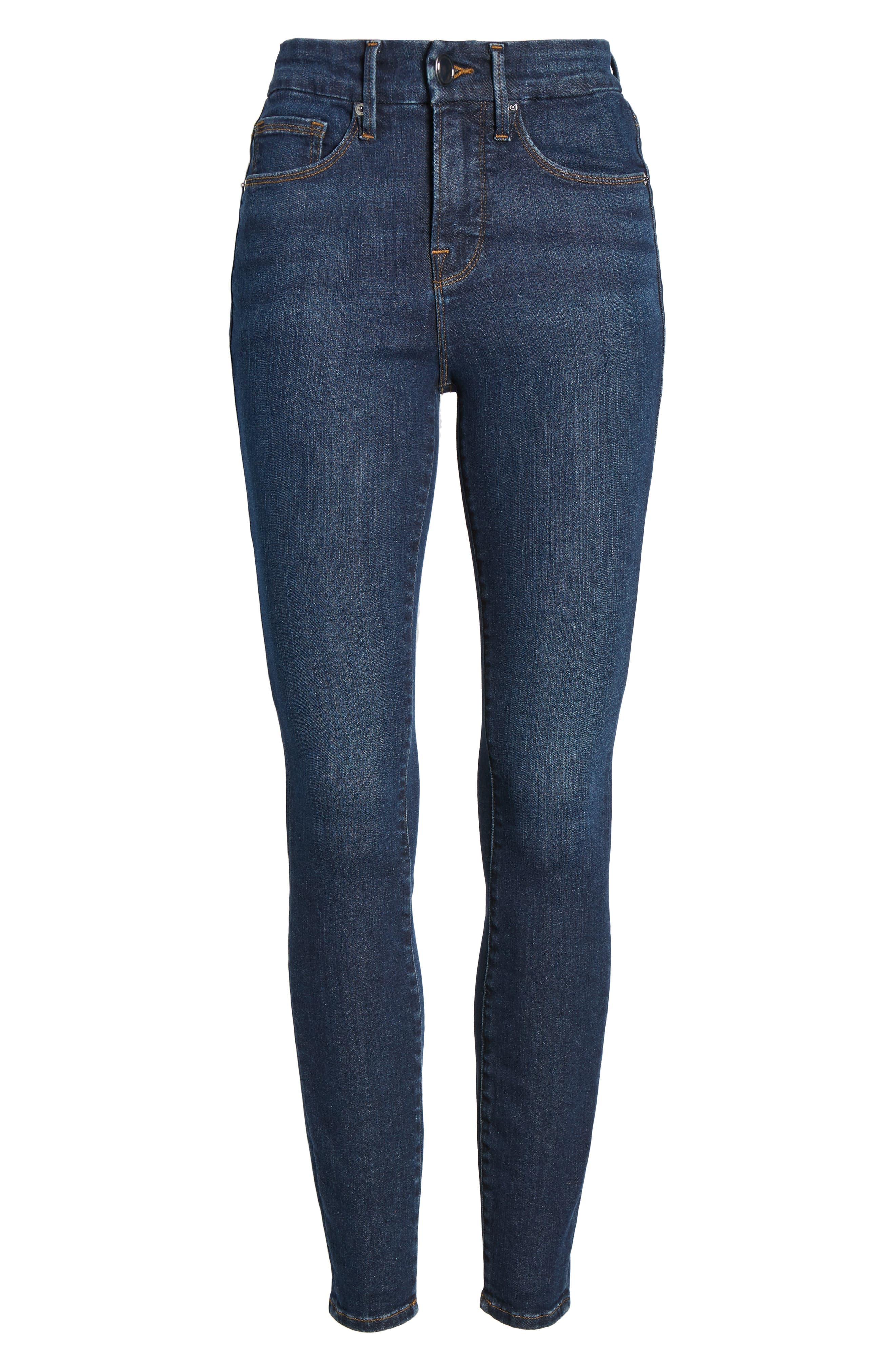 ,                             Good Legs High Waist Skinny Jeans,                             Alternate thumbnail 66, color,                             409