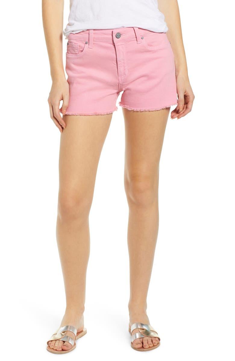 BP. High Waist Cutoff Denim Shorts, Main, color, 660