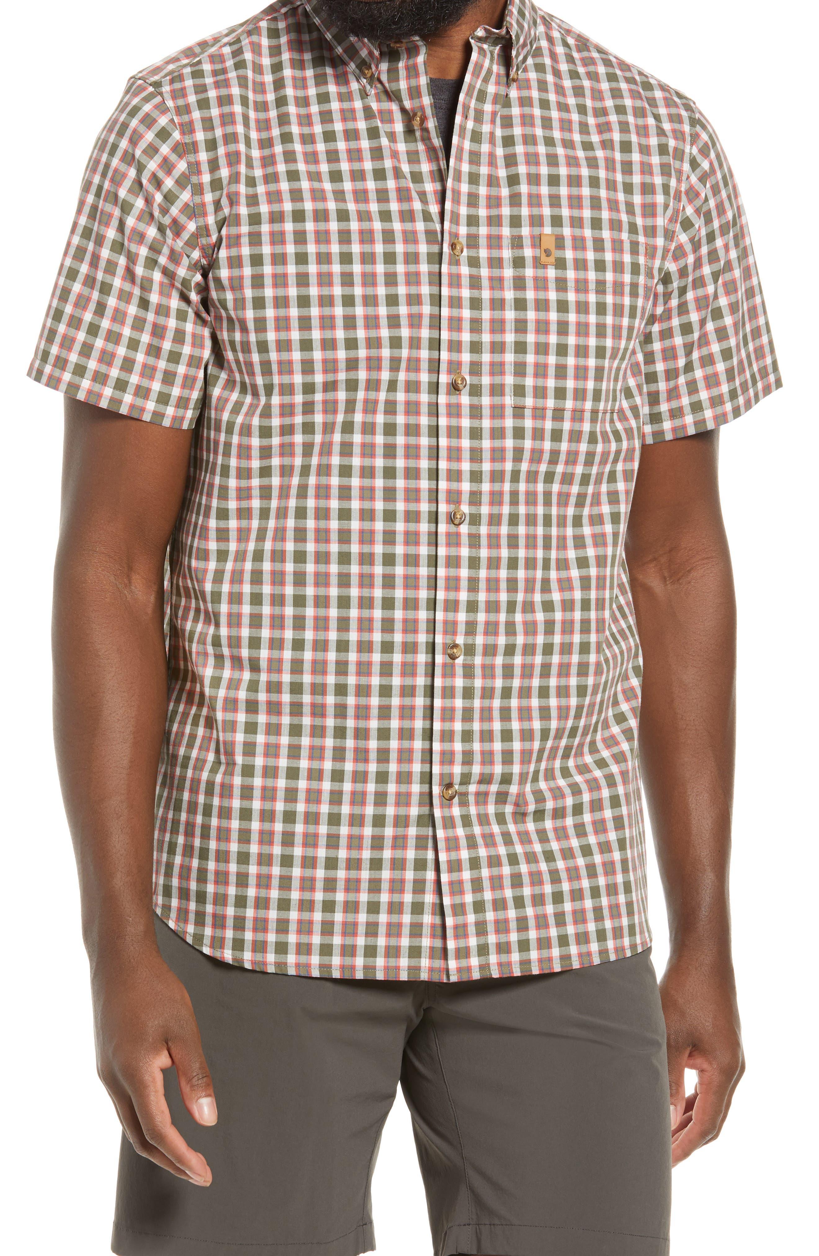 Ovik Short Sleeve Button-Up Shirt