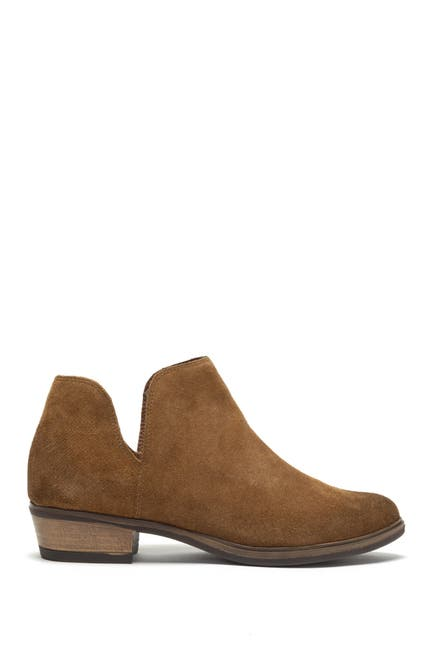 Image of Crevo Leighton Suede Notched Bootie
